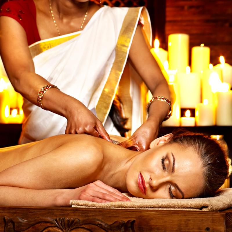 Ayurveda panchakarma massage