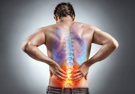 back pain indicating lumbar spondylosis